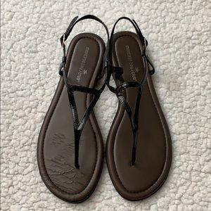 Shoes - Black Sandals Size 9